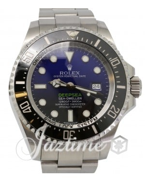 "Rolex Deepsea D-Blue ""James Cameron"" Stainless Steel 44mm Black Ceramic Bezel 116660 - PRE-OWNED"