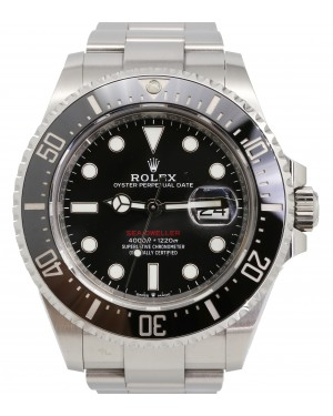 Rolex Sea-Dweller 50th Anniversary Black Maxi Dial Stainless Steel Oyster 43mm 126600 - PRE-OWNED
