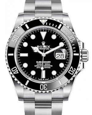 Rolex Submariner Date Stainless Steel Black 41mm Dial & Ceramic Bezel Oyster Bracelet 126610LN - BRAND NEW