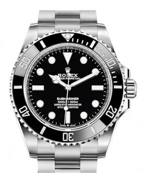 Rolex Submariner Stainless Steel Black 41mm Dial & Ceramic Bezel Oyster Bracelet 124060 - BRAND NEW