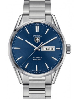 Tag Heuer Carrera Stainless Steel Blue Index Dial & Stainless Steel Bracelet  WAR201E.BA0723 - BRAND NEW