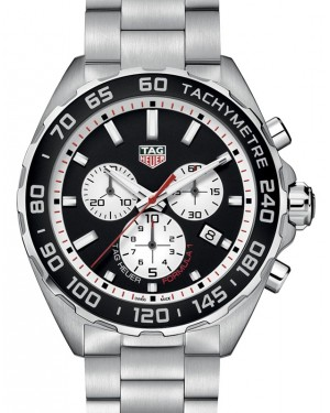 Tag Heuer Formula 1 Stainless Steel Black Index Dial & Stainless Steel Bracelet CAZ101E.BA0842 - BRAND NEW