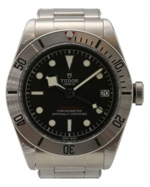 Tudor Heritage Black Bay 79730 Stainless Steel Black Luminous Dial & Steel Bracelet - PRE-OWNED