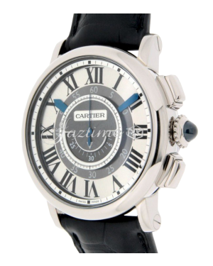 CARTIER W1556051 ROTONDE DE CARTIER 42MM 18K WHITE GOLD BRAND NEW