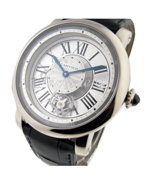 CARTIER W1556204 ROTONDE DE CARTIER 47MM 18K WHITE GOLD BRAND NEW