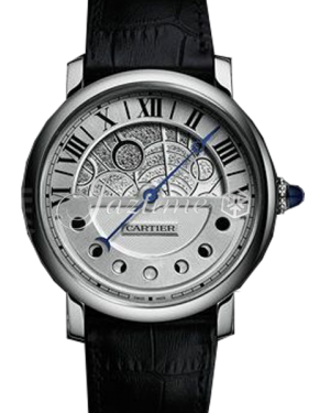 CARTIER W1556244 ROTONDE DE CARTIER 43.5MM PALLADIUM BRAND NEW