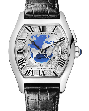 CARTIER W1580050 TORTUE 18K WHITE GOLD BRAND NEW