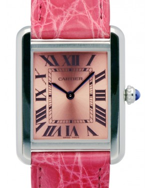 CARTIER W5200000 TANK SOLO STAINLESS STEEL BRAND NEW