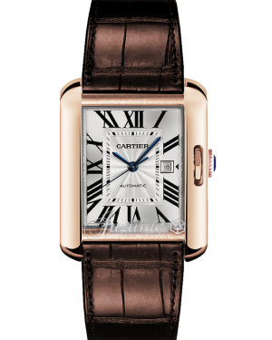 CARTIER W5310005 TANK ANGLAISE 18k PINK GOLD BRAND NEW
