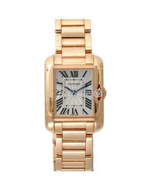 CARTIER W5310013 TANK ANGLAISE 18K PINK GOLD BRAND NEW