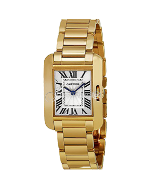 CARTIER W5310014 TANK ANGLAISE 18K YELLOW GOLD BRAND NEW