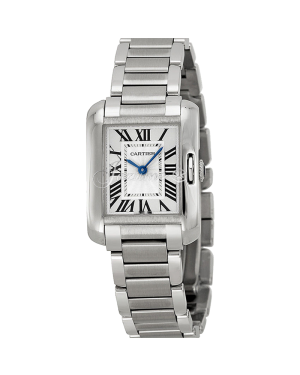 CARTIER W5310022 TANK ANGLAISE STEEL BRAND NEW