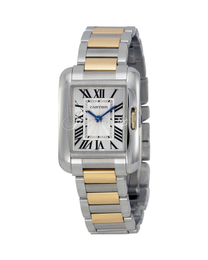 CARTIER W5310046 TANK ANGLAISE GOLD, STEEL BRAND NEW