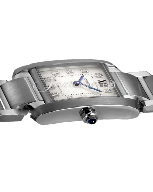 CARTIER WE110006 TANK FRANCAISE STEEL BRAND NEW