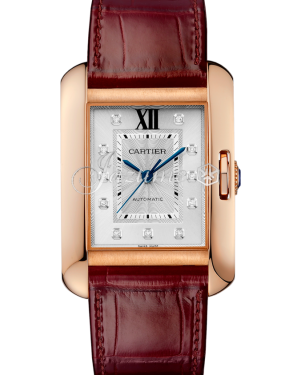 CARTIER WJTA0006 TANK ANGLAISE PINK GOLD BRAND NEW