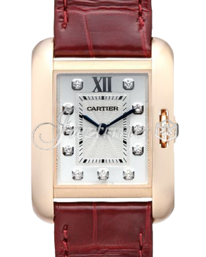 CARTIER WJTA0007 TANK ANGLAISE PINK GOLD - BRAND NEW