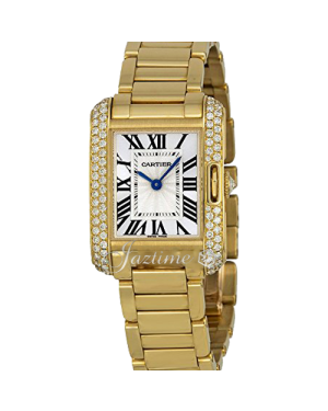 CARTIER WT100005 TANK ANGLAISE 18K YELLOW GOLD, DIAMONDS BRAND NEW