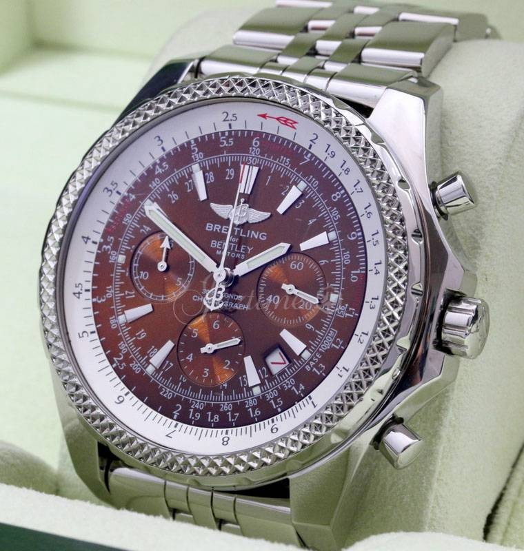Used Bentley For Sale: Breitling A25362 Bentley Motors Copper » For SALE
