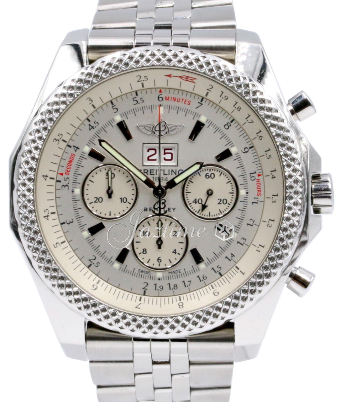 Breitling A44364 Bentley 6.75 White » For SALE