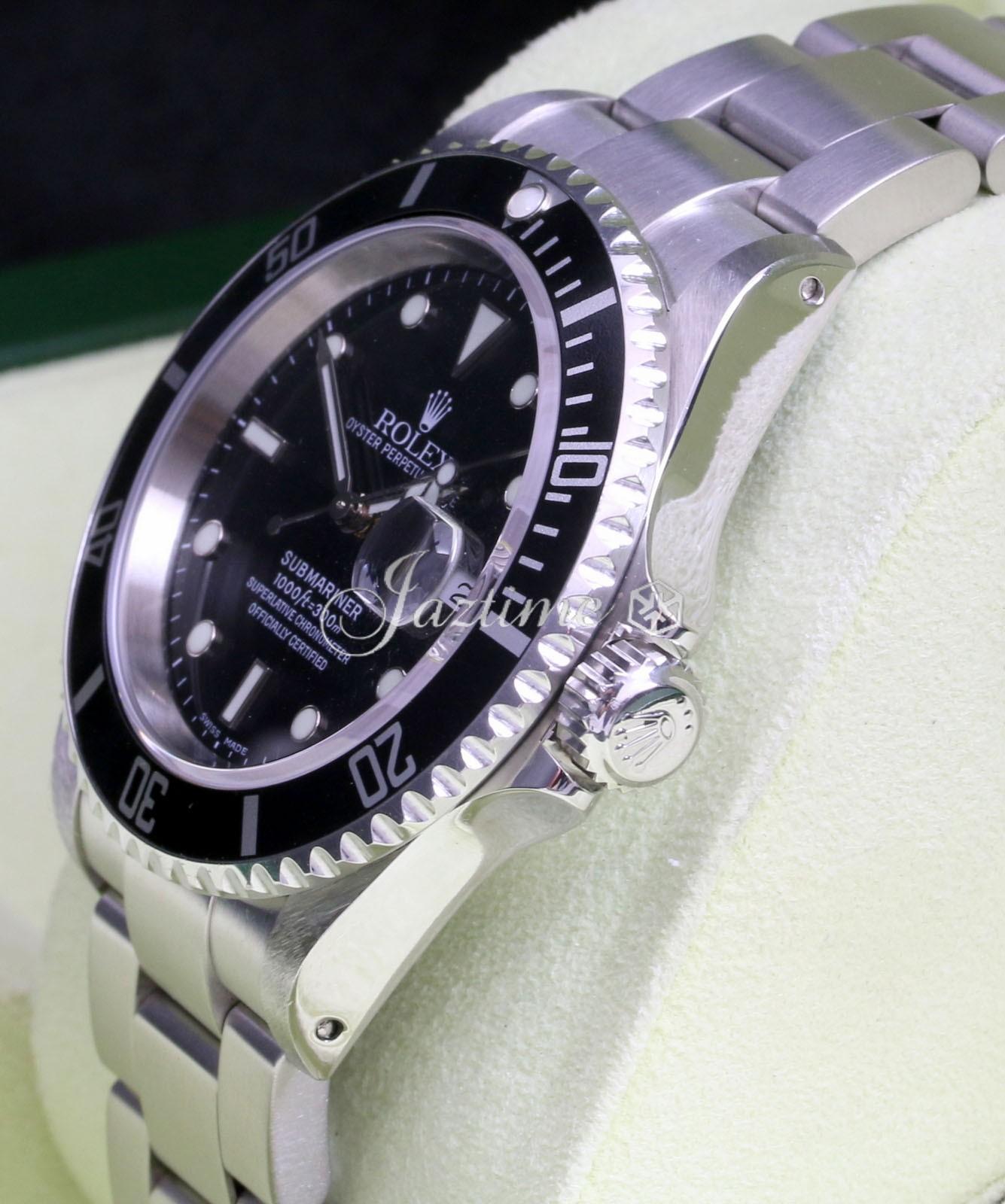 Rolex 16610 Submariner Black » for SALE