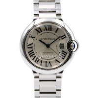 Cartier W6920046 Ballon Bleu Midsize Stainless Steel Automatic 3284 BOX PAPERS