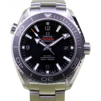 Omega 232.30.46.21.01.001 Planet Ocean 600M Co-Axial 45.5mm Black Stainless Steel BRAND NEW 2016