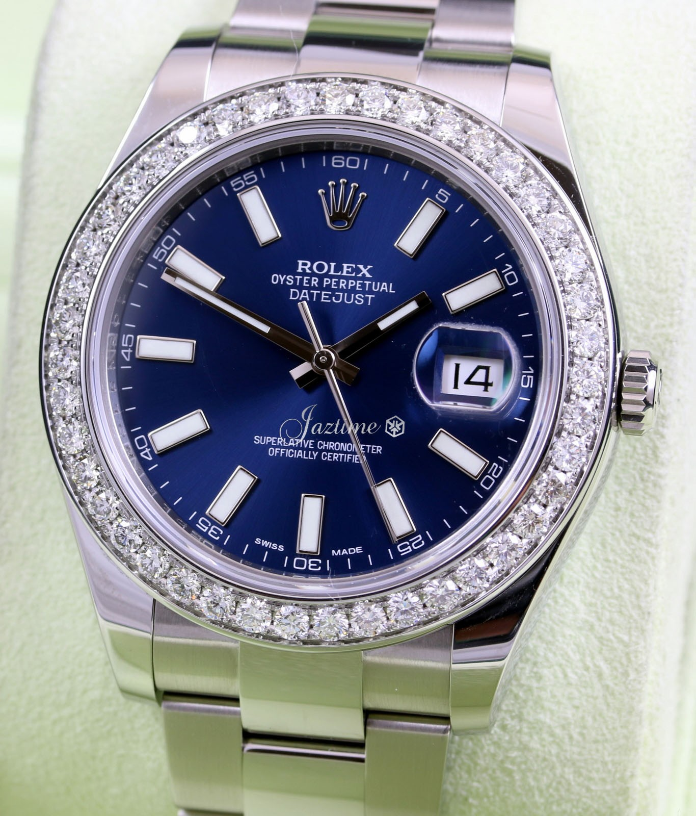 Rolex 116300 Datejust II Blue » for SALE
