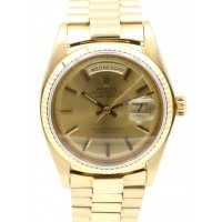Rolex Day-Date President 1803 Champagne Index 36mm 18k Yellow Gold
