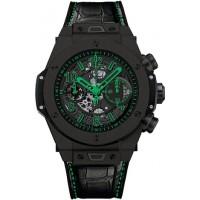 Hublot Big Bang Unico Black 411.CI.1190.LR.ABG14 Green 45.5mm Ceramic BRAND NEW 2016