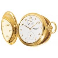 Patek Philippe 983J-001 Lepine Pocket Watch 48mm Ivory Arabic Yellow Gold Manual BRAND NEW 2016