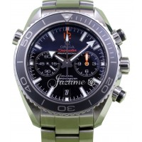 Omega Planet Ocean Chronograph 600M 232.30.46.51.01.003 Co-Axial Black Ceramic Stainless Steel BOX/PAPERS