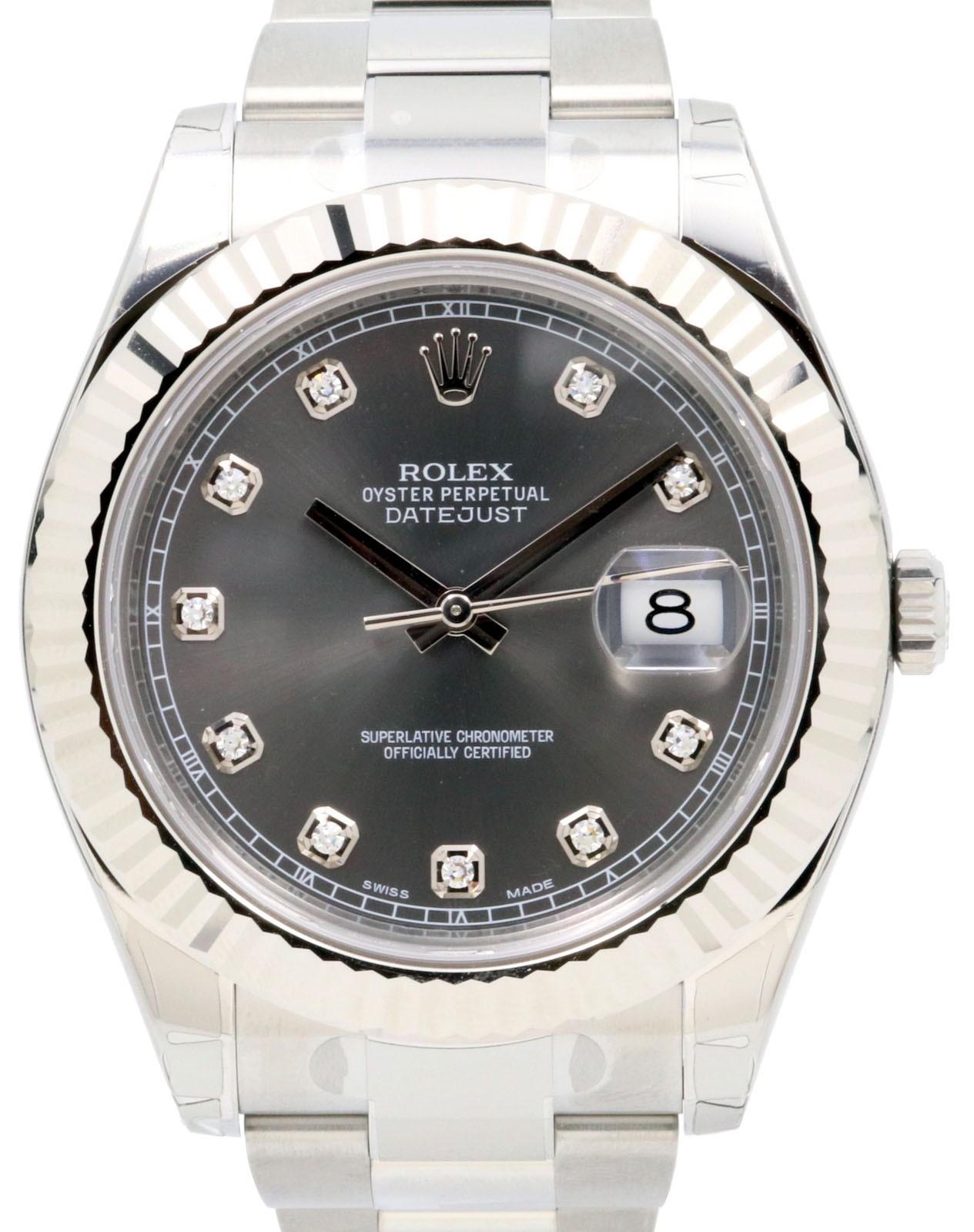 Rolex 116334 Datejust II Slate » for SALE