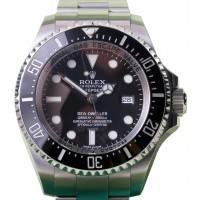 Rolex Deepsea 116660 Men's 44mm Black Ceramic Stainless Steel Oyster Sea-Dweller