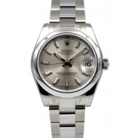 Rolex Datejust 178240 Ladies 31mm Silver Index Stainless Steel Oyster BRAND NEW 2016