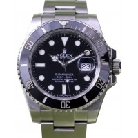 Rolex Submariner 116610LN 116610 40mm Black Ceramic Stainless Steel Oyster Date