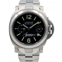 Panerai PAM 221 Luminor Marina Men's 44mm Automatic Titanium Date BOX/PAPERS