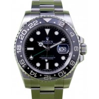 Rolex GMT-Master II 116710 Men's 40mm Black Ceramic Stainless Steel Oyster Date BOX/PAPERS