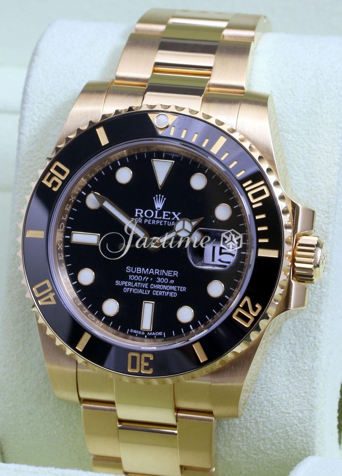 Rolex 116618LN Submariner Black » for SALE