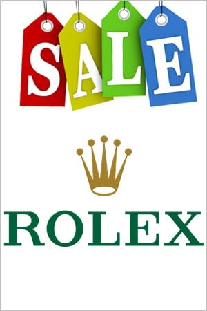 Rolex on Sale