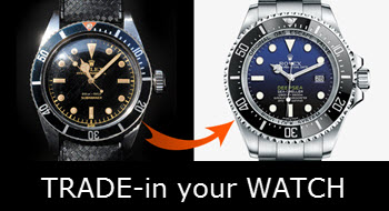 Trade-in my Rolex online