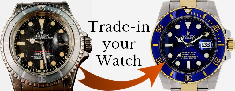 Trade-in your Rolex or other Swiss Watch
